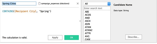 avg exceptions wildcard