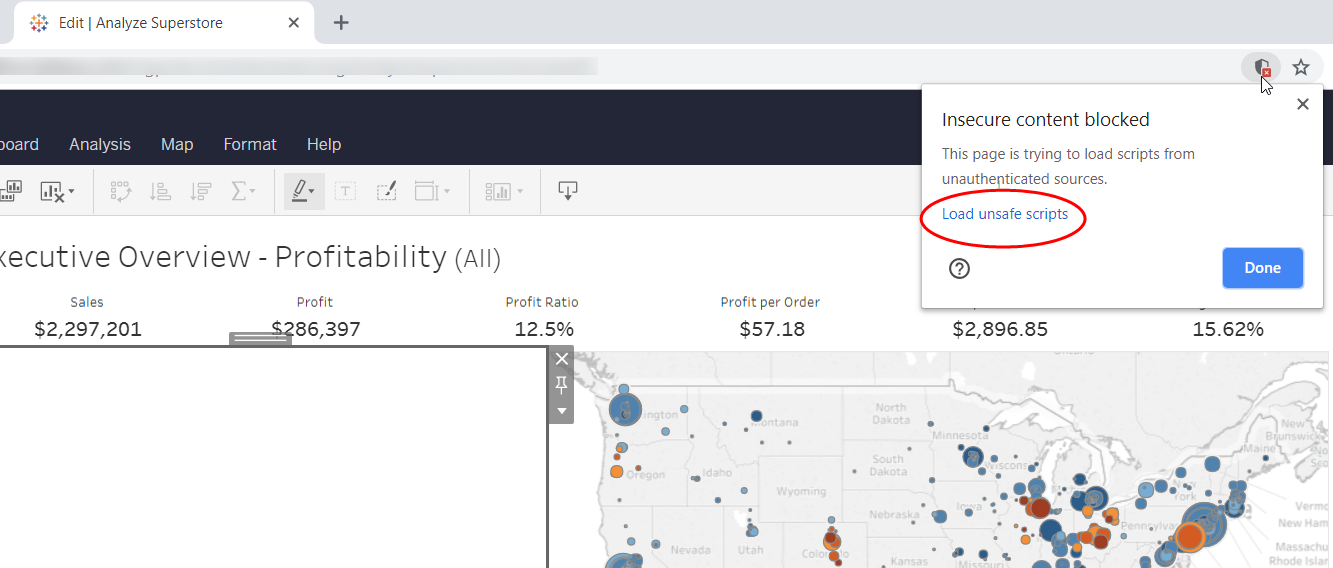 HTTPS and Tableau Extensions